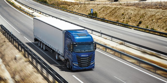 IVECO S-WAY Natural Power mit Erdgasantrieb